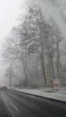 Schnee Totensonntag